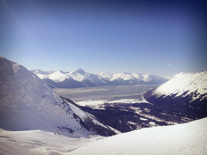 Alyeska: the Best View from a Ski Area in North America?