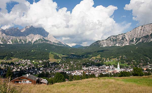 A Visit to the Posh Mountain town of Cortina d'Ampezzo in the Dolomites, Italy